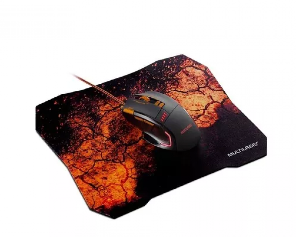 Mouse Gamer Combo Set Multilaser