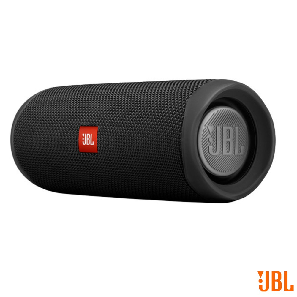 Caixa de Som Bluetooth JBL Flip 5 com 20W para Android, iOS e Windows Phone Preto