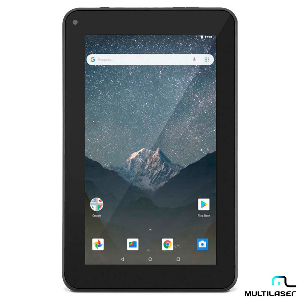 Tablet Multilaser M7S Lite, Android 8.1, 8GB, Tela 7', Preto